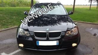 BMW 318D TOURING S&S 143Ch BVM6/RÉVISÉ/4 ROUES NEIGE/XENON/GPS/