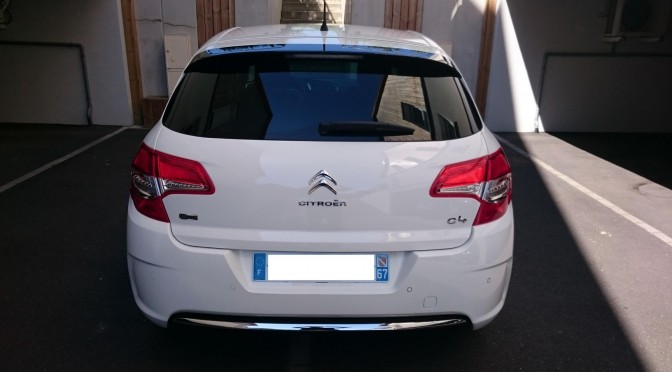 CITROEN C4 1.6 eHDI 115Ch BVM6 EXCLUSIVE//1ere Main//GPS//