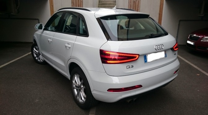 Audi q3 2 0 tdi 140ch s s bvm6 ambition luxe gps for Garage audi obernai