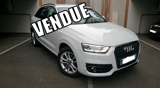 audi q3 2 0 tdi 140ch s s bvm6 ambition luxe gps x non cuir alcantara autos coaching. Black Bedroom Furniture Sets. Home Design Ideas