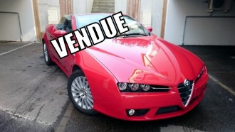 ALFA ROMEO SPIDER 2.2 JTS 185Ch // 28 000 KMS // HISTORIQUE COMPLET