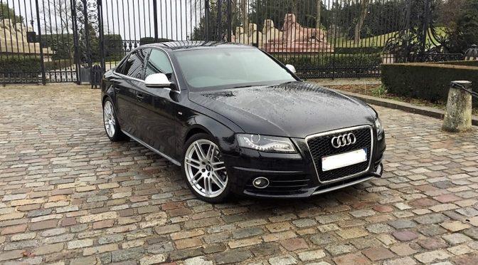 Audi a4 3 0 tdi 240ch s line plus quattro tiptronic for Garage audi obernai
