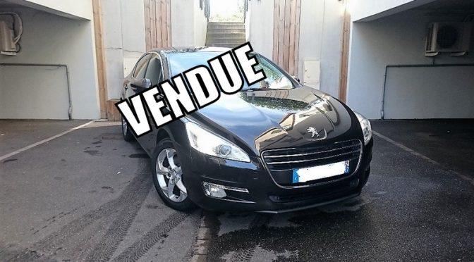 PEUGEOT 508 2.0 HDI 163Ch BVA6 FELINE // 1ère Main // Carnet Peugeot