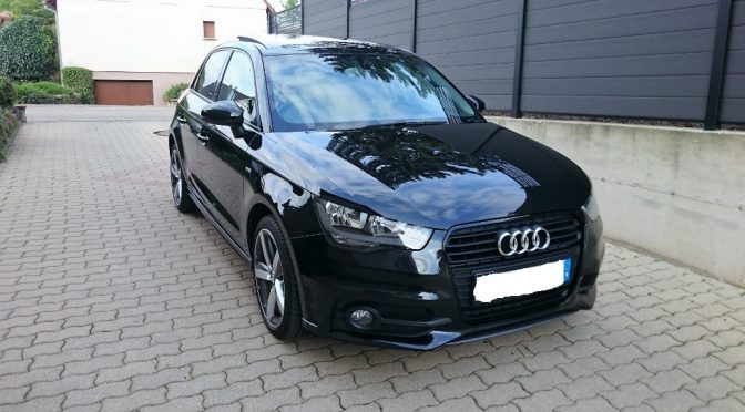 audi a1 sportback 1 6 tdi 90 s tronic pack s line. Black Bedroom Furniture Sets. Home Design Ideas