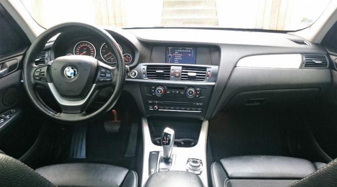 BMW X3 XDRIVE 20Da 184Ch BVA8 4×4 // CARNET COMPLET // TOIT PANO // GPS