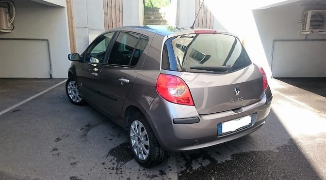 renault clio iii 1 5 dci 85ch exception 5 portes autos coaching. Black Bedroom Furniture Sets. Home Design Ideas