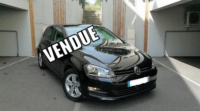 VW GOLF VII 1.4 TSI 122Ch DSG7 CONFORTLINE 5 PORTES // 1ère Main