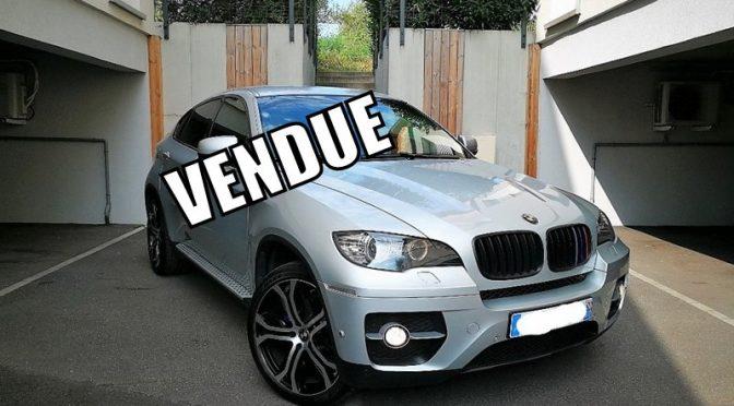 BMW X6 30 dA xDRIVE 245Ch BVA8 LUXE 5 places // CARNET COMPLET BMW