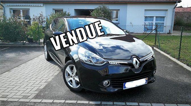 RENAULT CLIO IV 0.9 TCE 90Ch INTENS // 1ère Main
