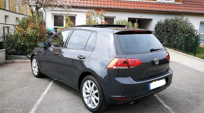 VW GOLF VII 1.4 TSI 140Ch ACT BVM6 CARAT // 1ère Main // TOIT PANO // 4 000-€ d'options