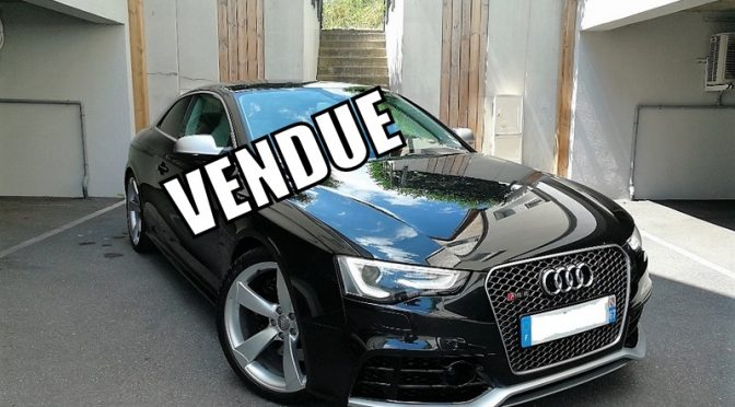 AUDI RS5 COUPE PHASE 2 V8 4.2 FSI 450Ch S-TRONIC
