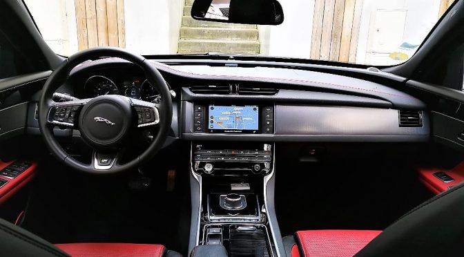 JAGUAR XF 2.0D 180Ch AUTOMATIQUE R-SPORT // 1ère Main // ~4 800-€ d'options!