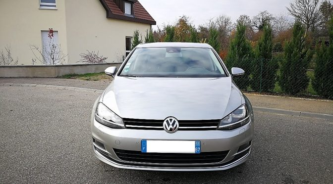 VW GOLF VII 1.4 TSI 140Ch ACT BVM6 HIGHLINE // 1ère Main // + de 6 000-€ d'options!