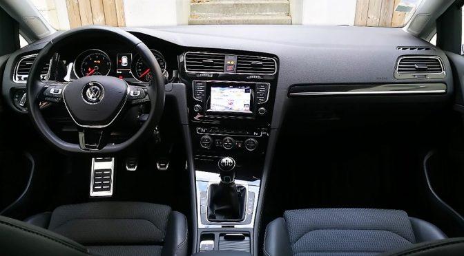VW GOLF VII 1.4 TSI 140Ch ACT BVM6 HIGHLINE // 1ère Main // + de 6 000-€ d'options!