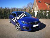 NOUVELLE PEUGEOT 308 1.2 Puretech 130Ch EAT8 GT LINE // 1ère MAIN // 2 350-€ d'options!