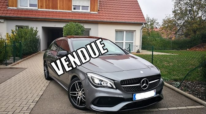 MERCEDES CLA 220D 177Ch SHOOTING BRAKE FASCINATION 7G-DCT // TOIT PANO