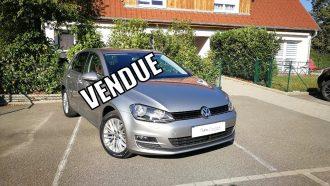 VW GOLF VII 1.4 TFSI 122Ch CUP DSG7 5 PORTES // 59 900kms //