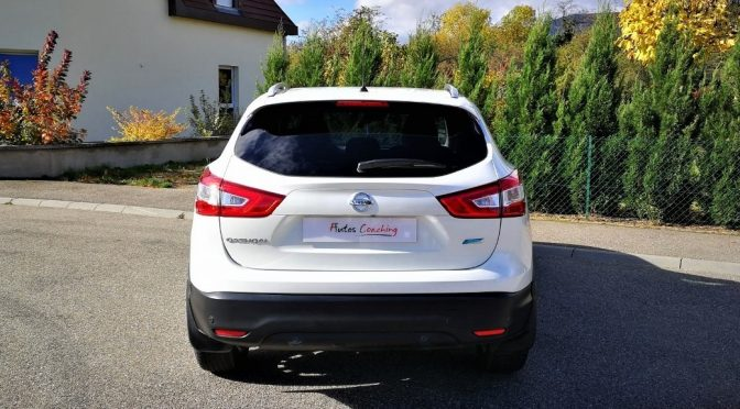 NISSAN QASHQAI II 1.5 Dci 110Ch CONNECT EDITION S&S // SEMI CUIR // BI LED // 1ère Main
