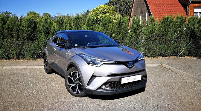 TOYOTA C-HR HYBRID 122Ch BVA TYPE EDITION // 1ère Main // LED // GPS // JA 18