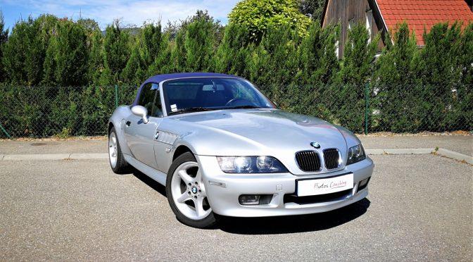 BMW Z3 1,9L 118Ch BVM5 // 77 900KMS // CUIR CHAUFFANT //