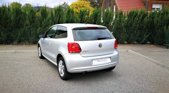 VW POLO V 1.4 FSI 85Ch MATCH 3 PORTES // 1ère Main // 23 900 kms