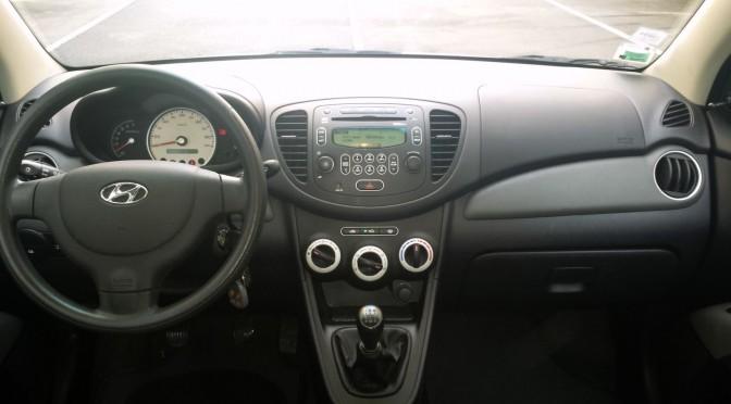 HYUNDAI i10 1,1L PACK 65Ch 5 PORTES//2008//92 900 Kms