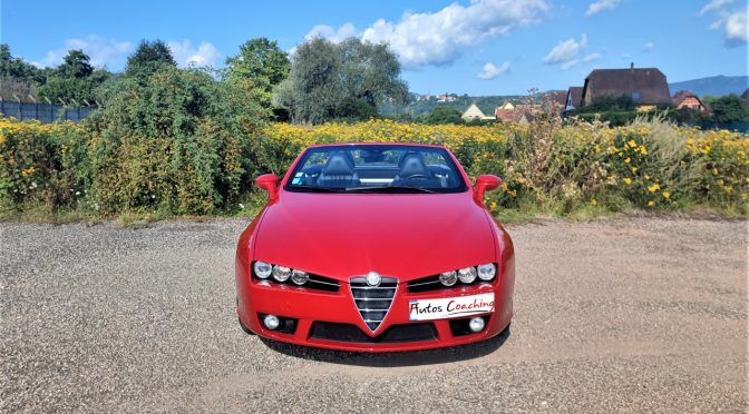 ALFA ROMEO SPIDER 2.2 JTS 185Ch // 33 500 KMS // HISTORIQUE COMPLET