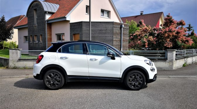 FIAT 500X (phase 2) 1.3 FIREFLY Turbo 150Ch 120th anniversaire DCT // 1ère Main // 25 900 kms // Toit pano // Camera